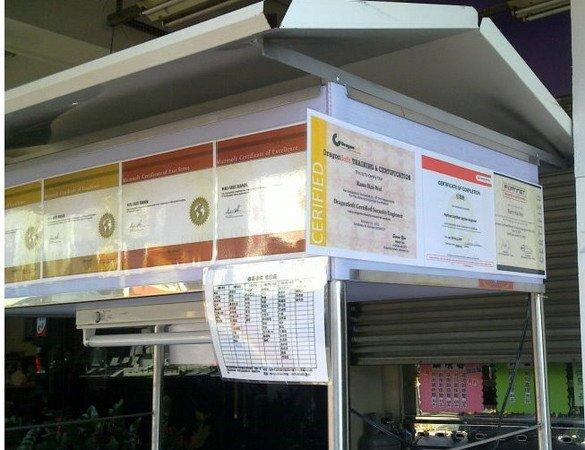 「證照 滷味」: 位於臺中北屯的一心市場三民路入口的海龜滷味