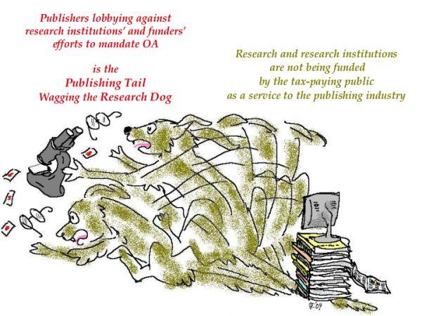 出版社因為追逐私利, 反過來妨礙研究