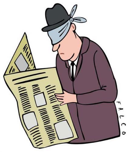 看不見真實新聞的讀者