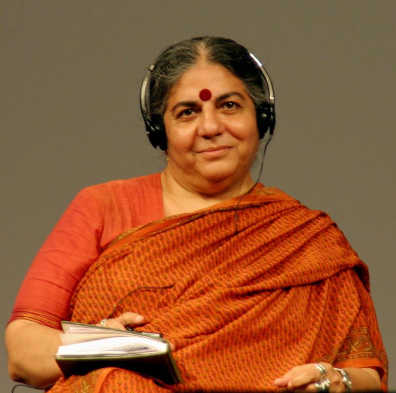 印度生態女性主義者 Vandana Shiva