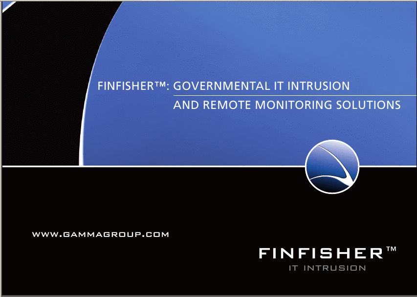Fin Fisher -- 政府監控民眾的工具