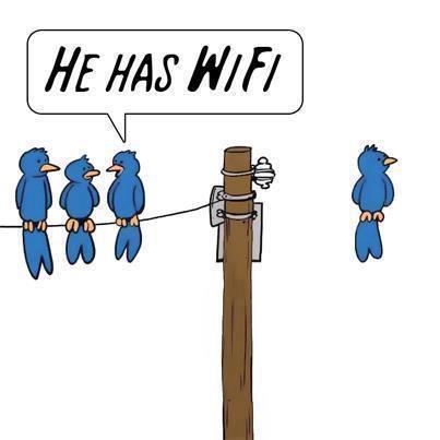 兩手空空就可以 wifi 連線... 就是比較帥氣