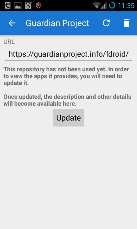 啟動 Guardian Project 市集