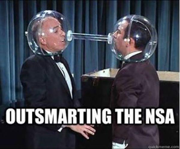 如何不被 NSA 監聽?