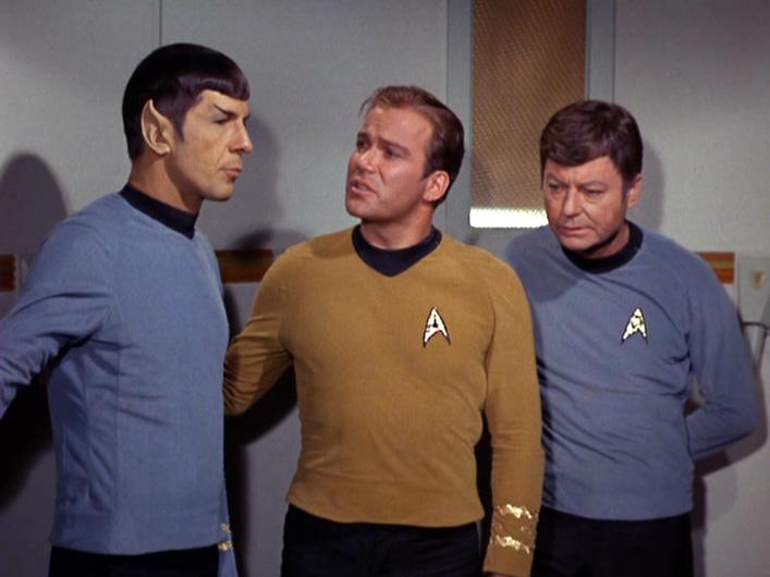 星艦迷航記 Spock、 Kirk、 McCoy, 原始照片1