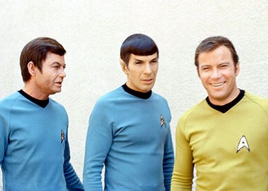 星艦迷航記 Spock、 Kirk、 McCoy, 原始照片2