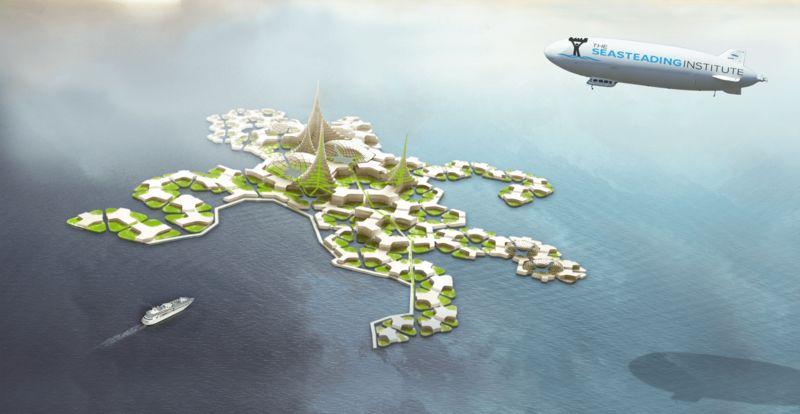 模組化的海洋家園