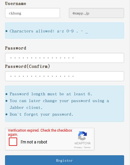 選 id、 創密碼