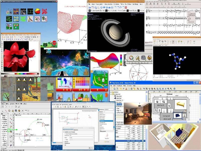 各種教育軟體