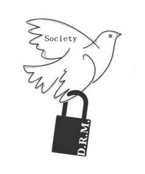 drm 傷害社會
